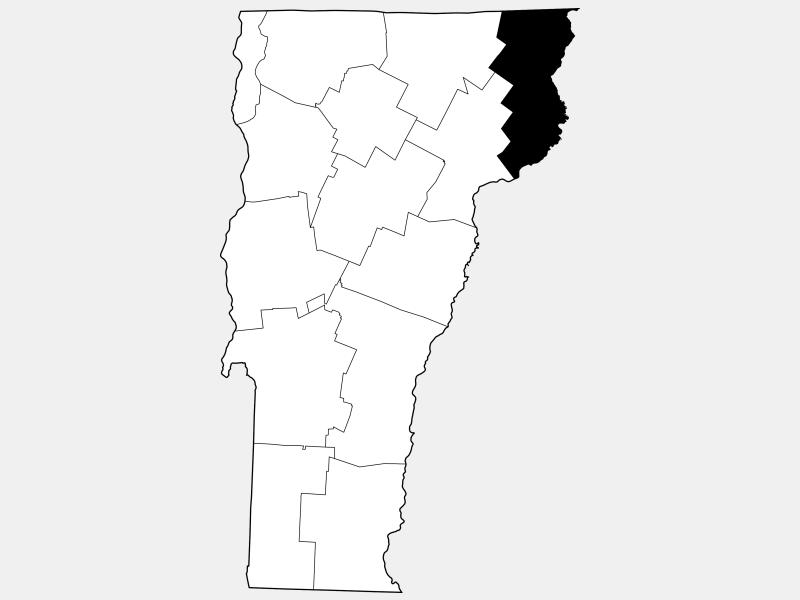 Essex County locator map