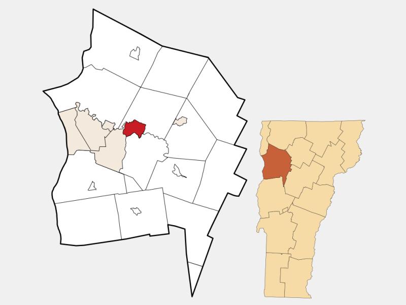Essex Junction locator map