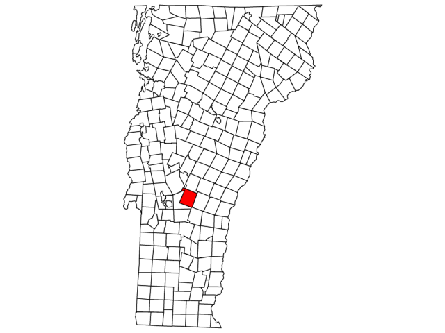 Killington locator map