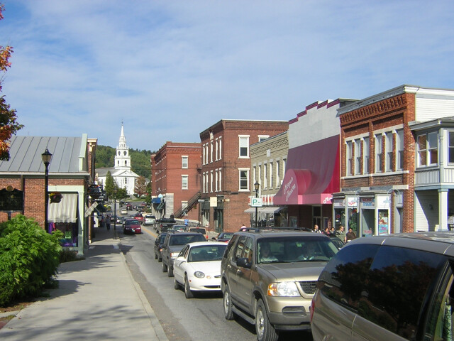 Middlebury VT - downtown image