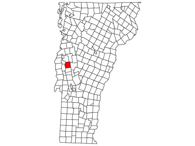 Middlebury (village) locator map