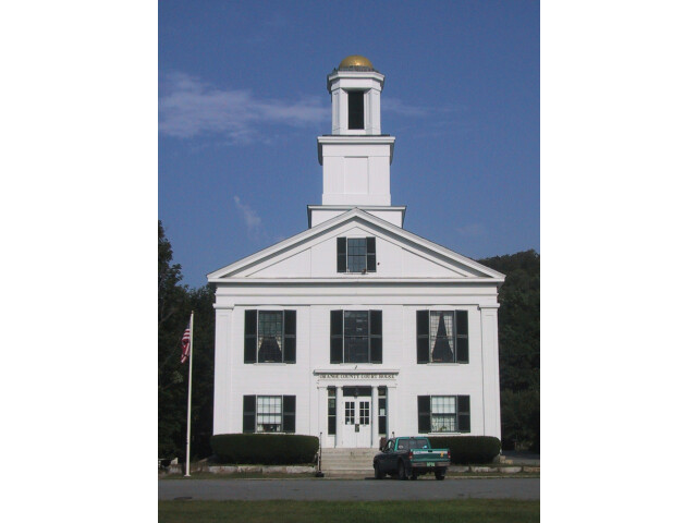 Orange county court house vt image