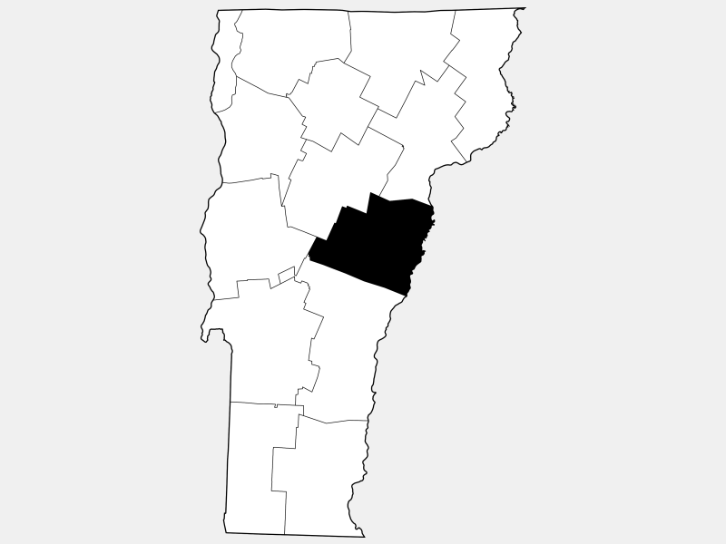 Orange County locator map