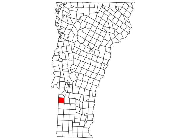 Pawlet locator map