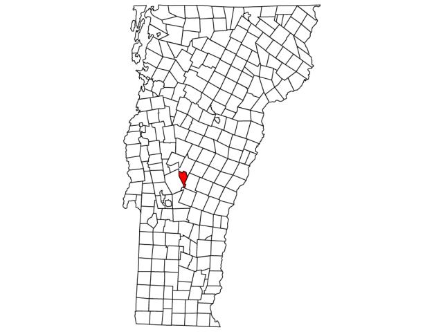 Pittsfield locator map
