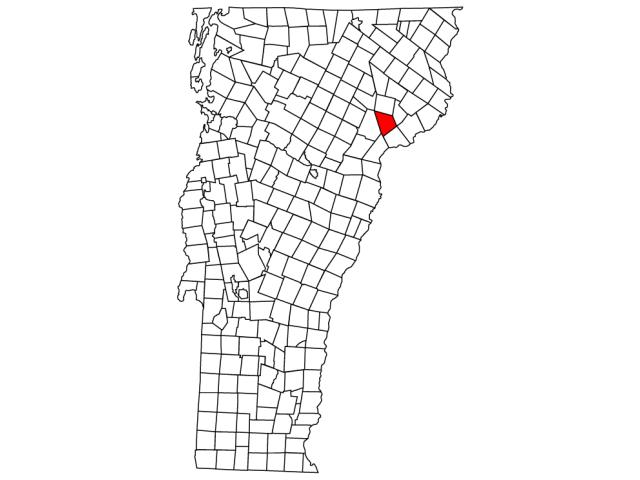 Saint Johnsbury locator map