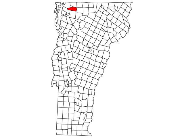 Sheldon locator map
