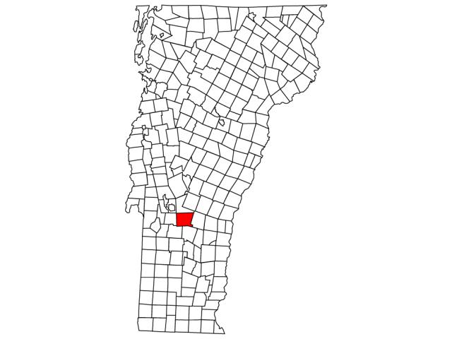 Shrewsbury locator map