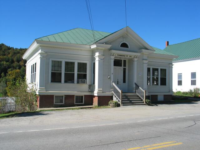 Tunbridge vermont town office 20040926 image