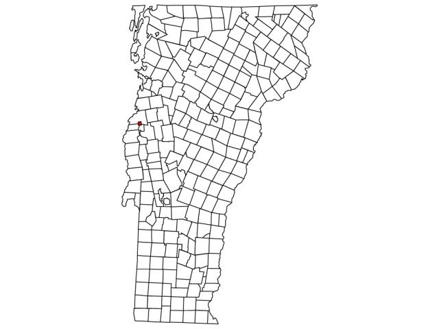 Vergennes locator map