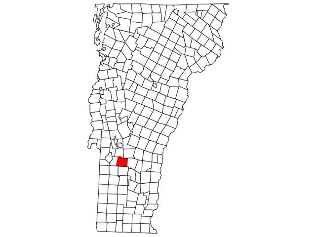 Wallingford locator map
