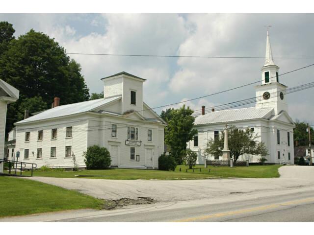 Williamstown VT church hs image