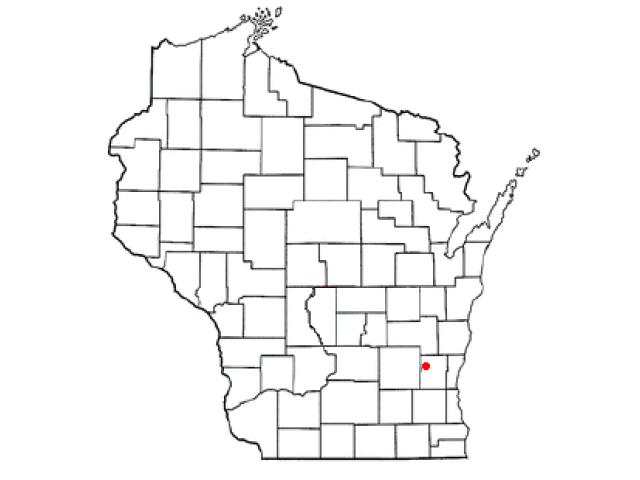 Addison locator map