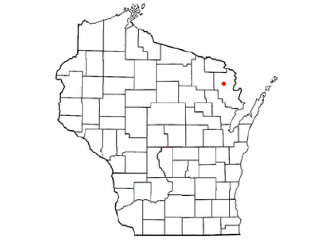Athelstane location map