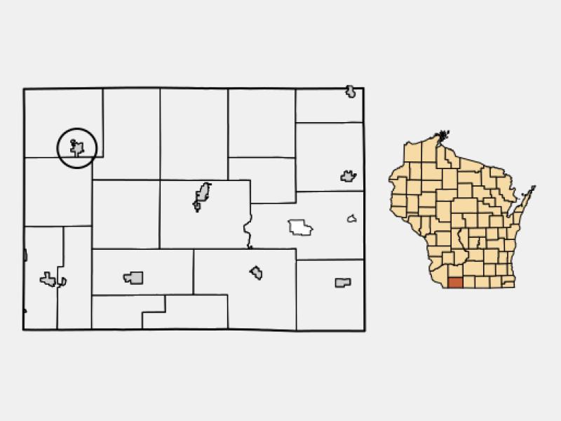 Belmont locator map