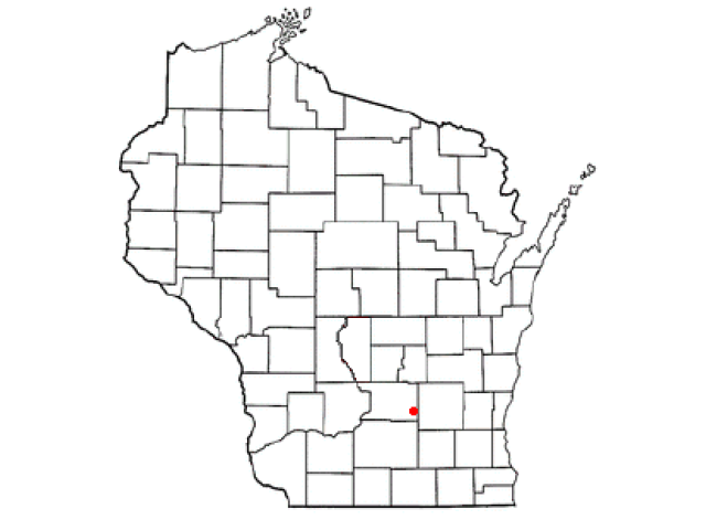 Columbus locator map