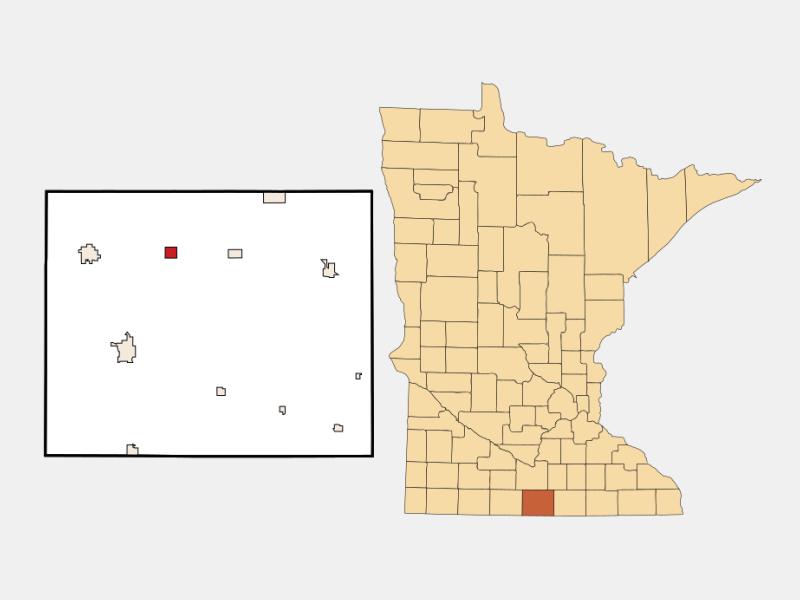 Delavan location map
