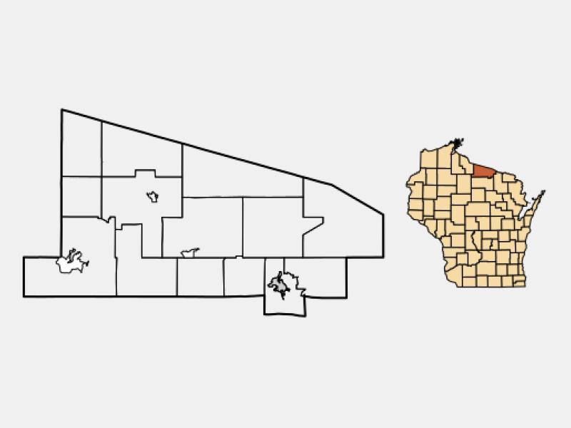 Eagle River location map