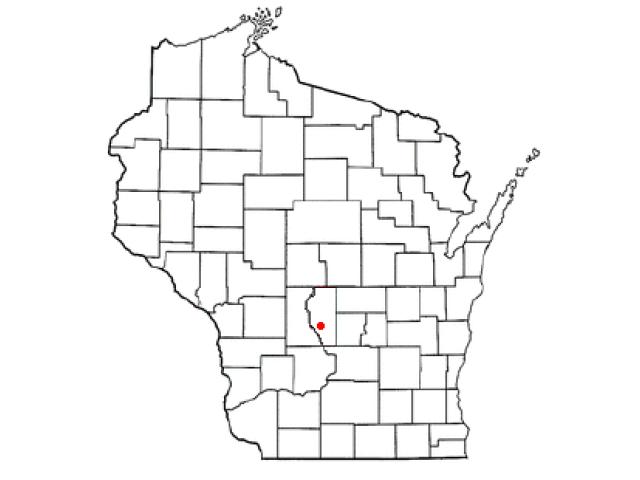 Easton locator map