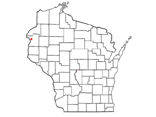 Eureka locator map
