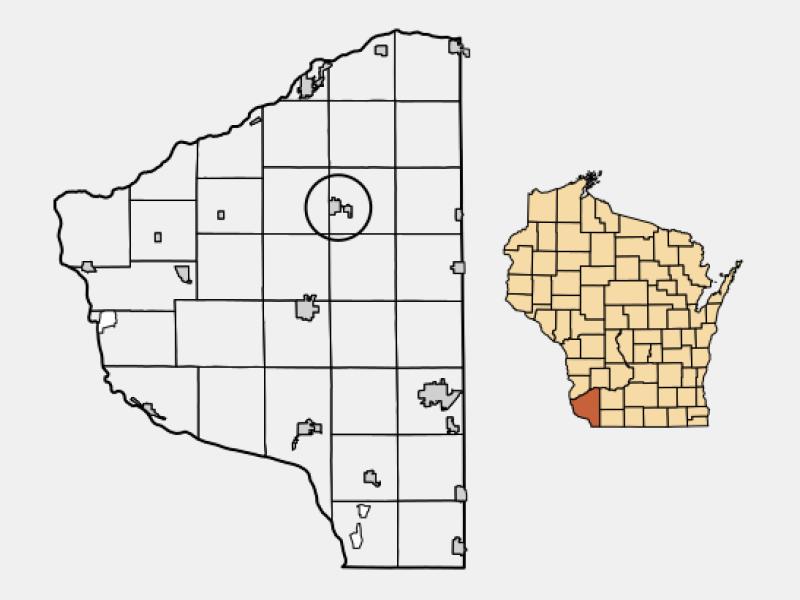 Fennimore locator map