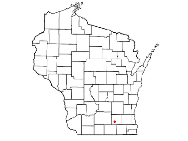 Fort Atkinson locator map