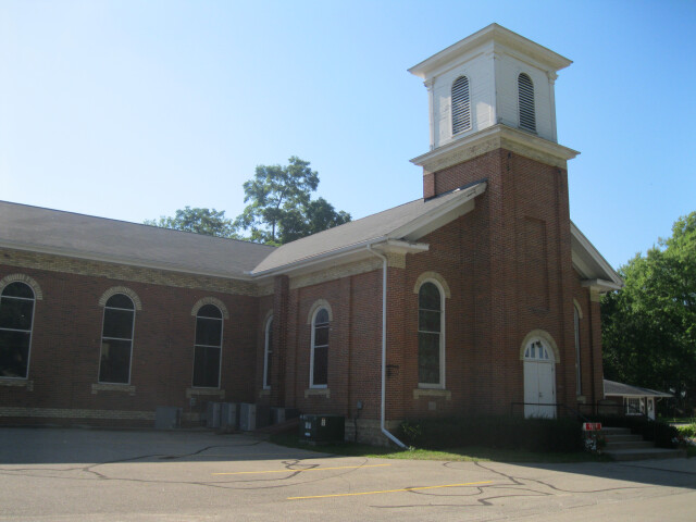 Fulton Congregational Church  Fulton  WI image
