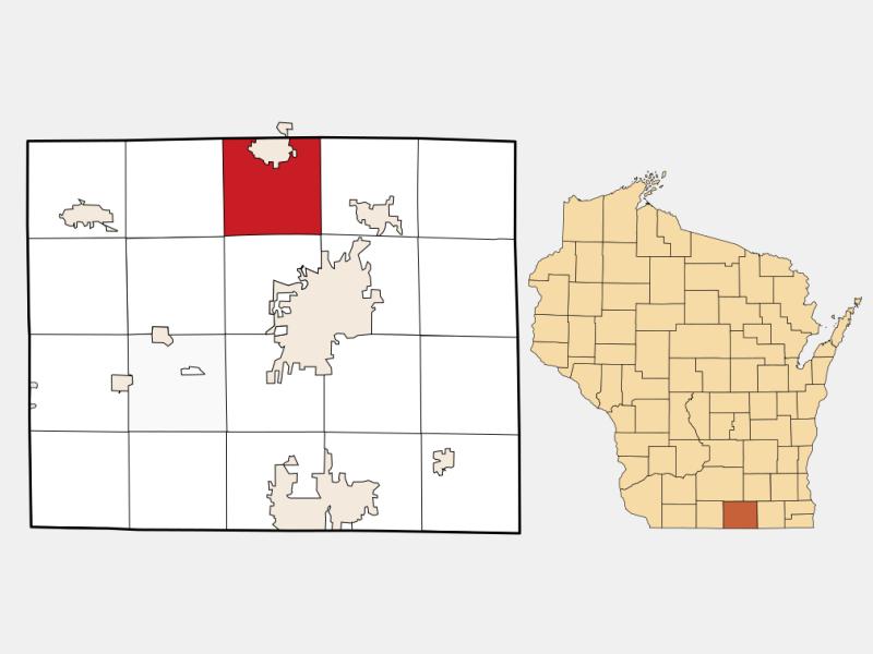 Fulton locator map