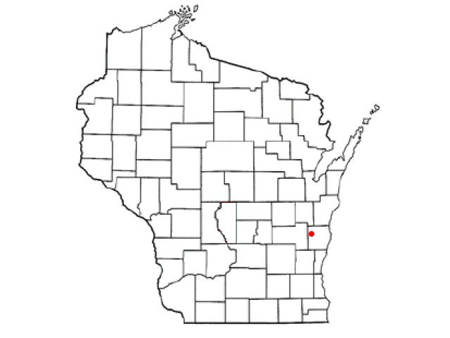 Greenbush locator map
