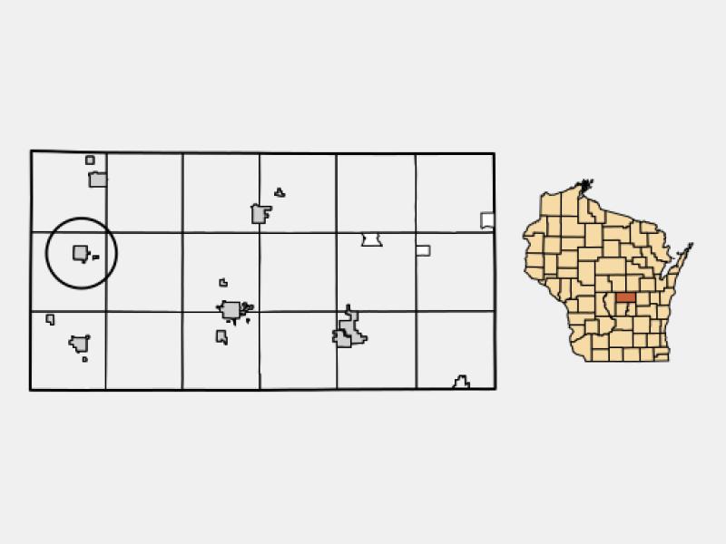 Hancock location map