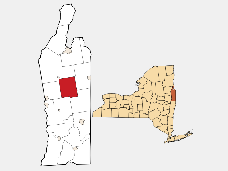 Hartford locator map