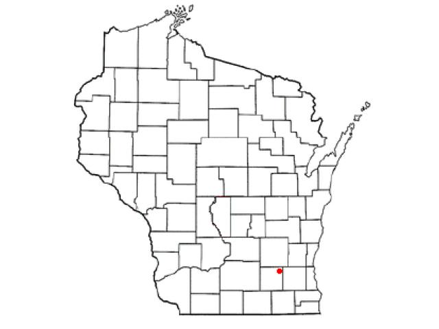 Ixonia locator map