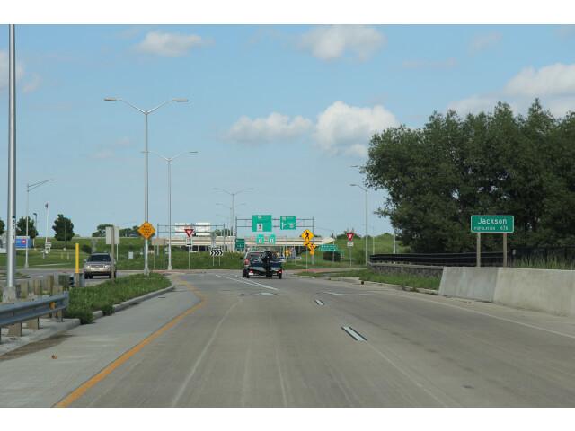 Jackson Wisconsin sign WIS60 image