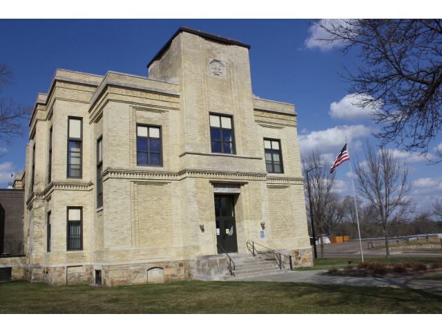 Jackson County Wisconsin Courthouse March 2012 image