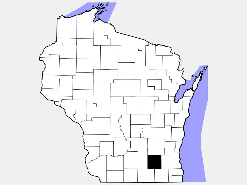Jefferson County locator map