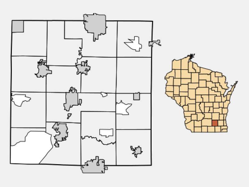 Johnson Creek locator map