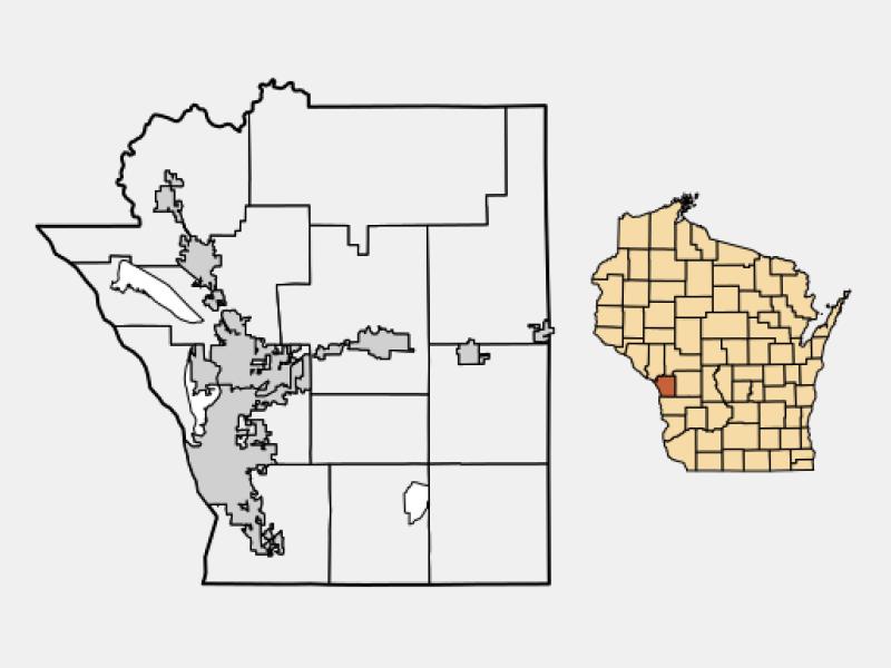 La Crosse locator map