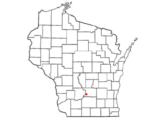 Lake Wisconsin locator map