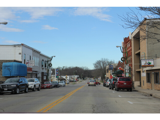 Lodi Wisconsin Downtown Looking North 1 WIS113 image