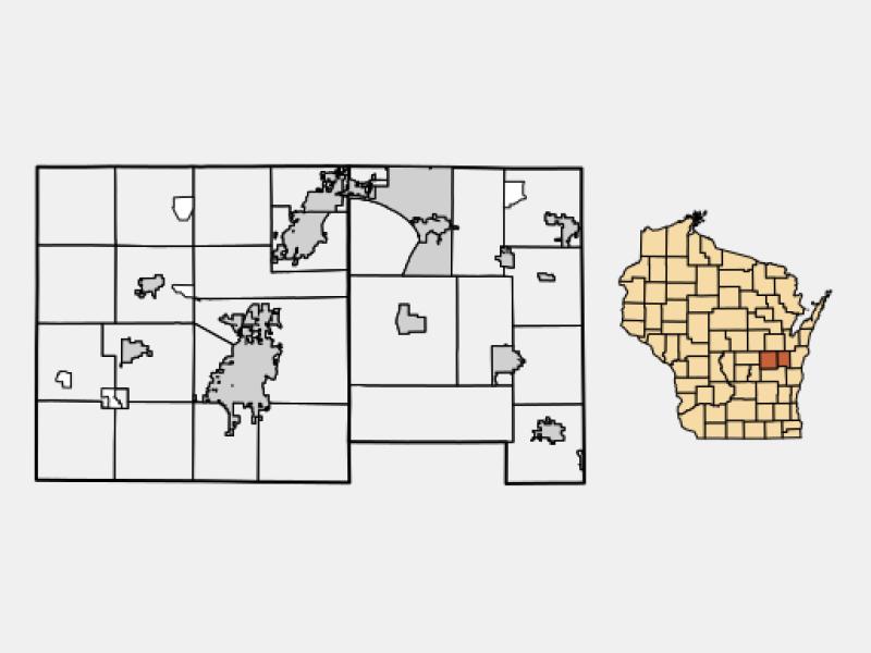 Menasha locator map
