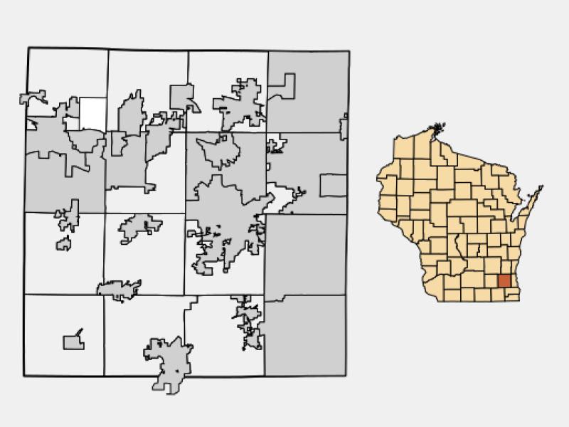 Menomonee Falls locator map