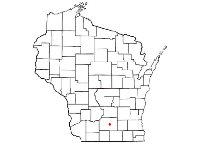 Monona locator map