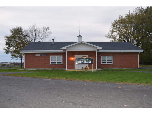 Town hall  Montrose  WI image