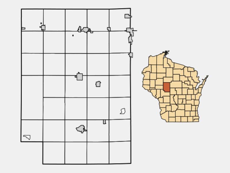 Neillsville locator map