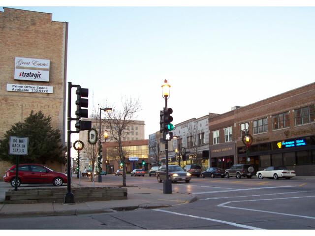 Downtown Oshkosh  Wisconsin  in 2006 image