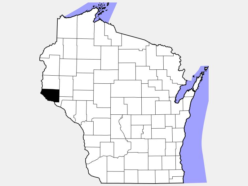 Pierce County locator map