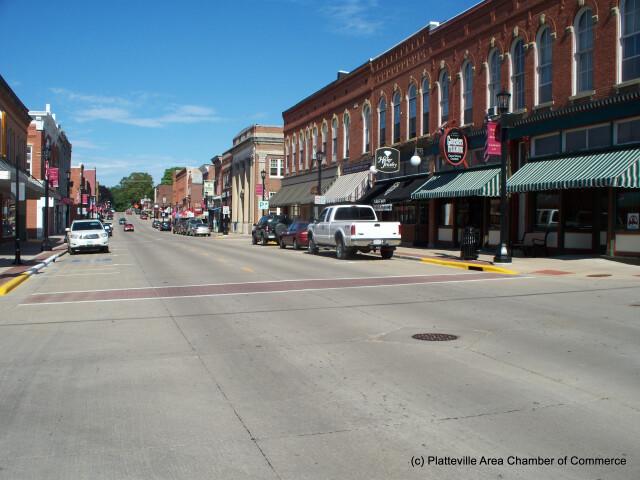 Platteville%27s Main Street image