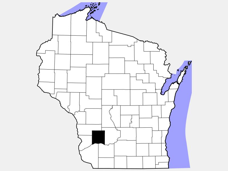 Richland County locator map