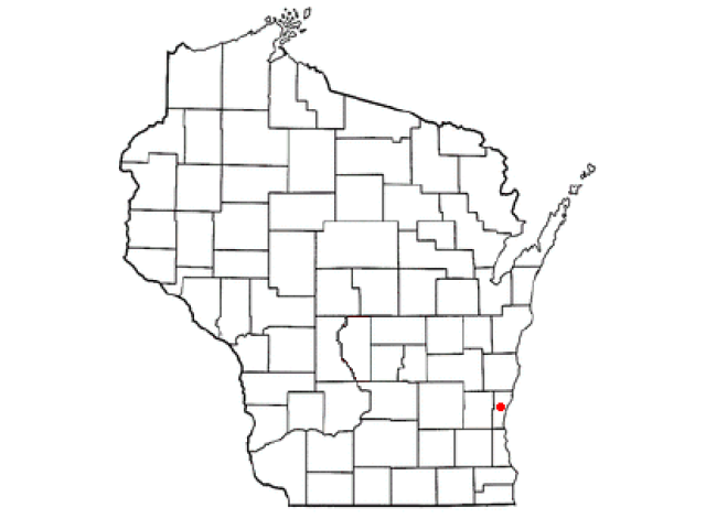 Saukville locator map
