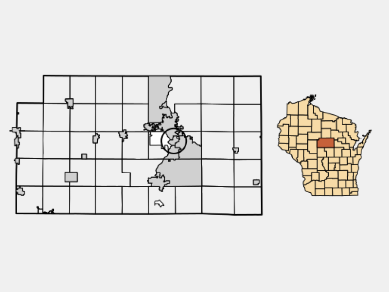 Schofield locator map